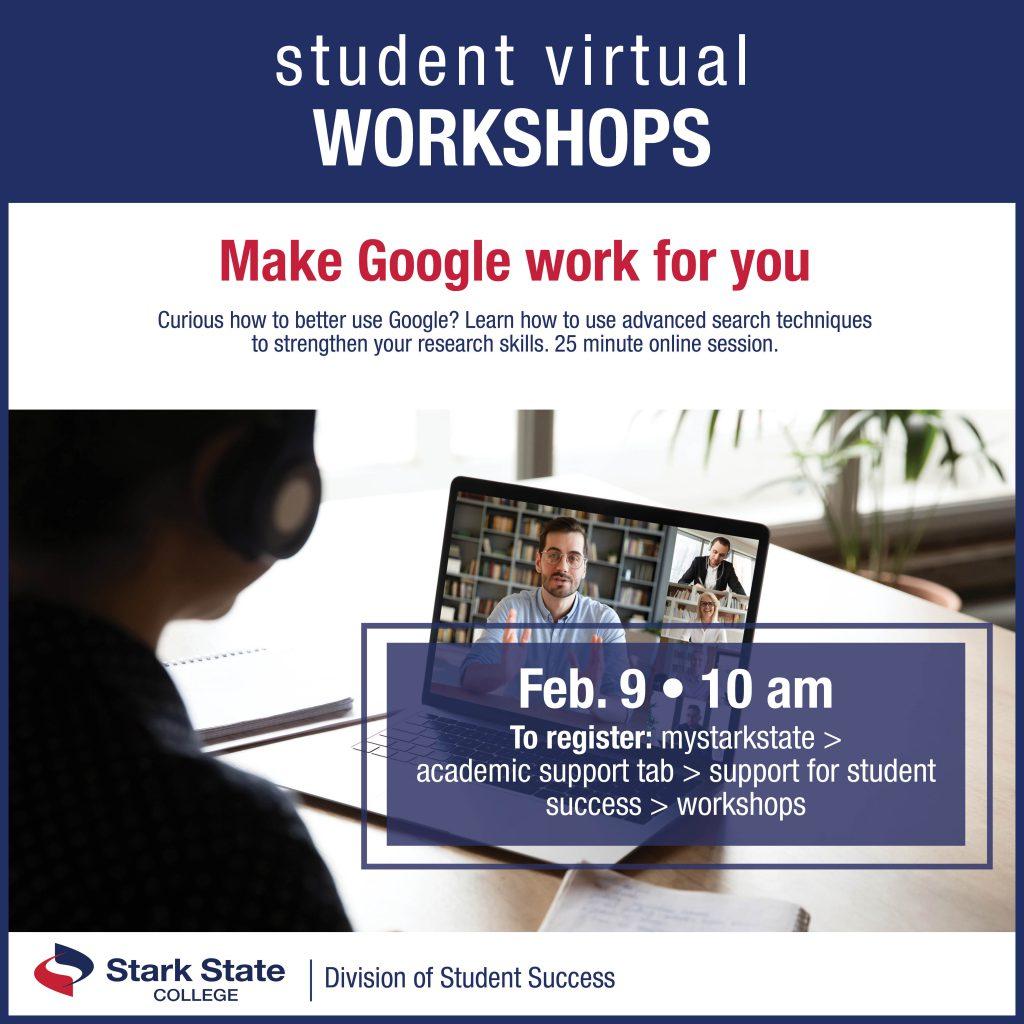 Virtual student workshops | Make Google work for you
