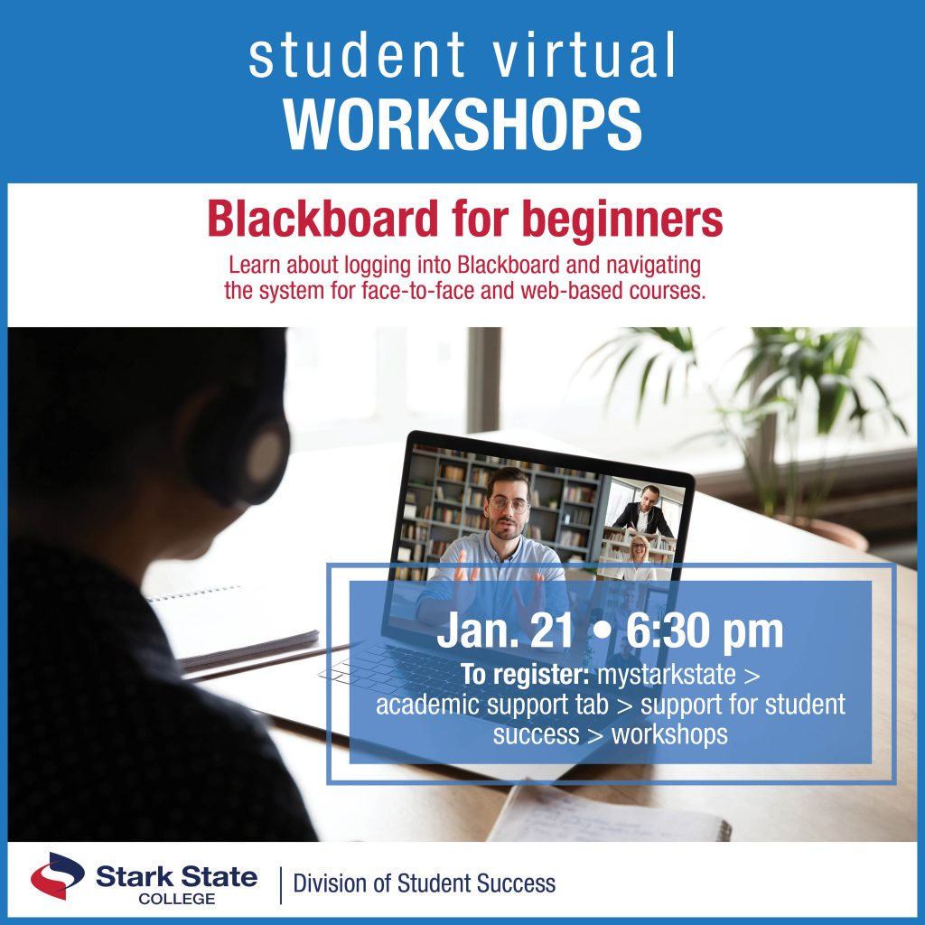 Virtual student workshop | Blackboard for beginners