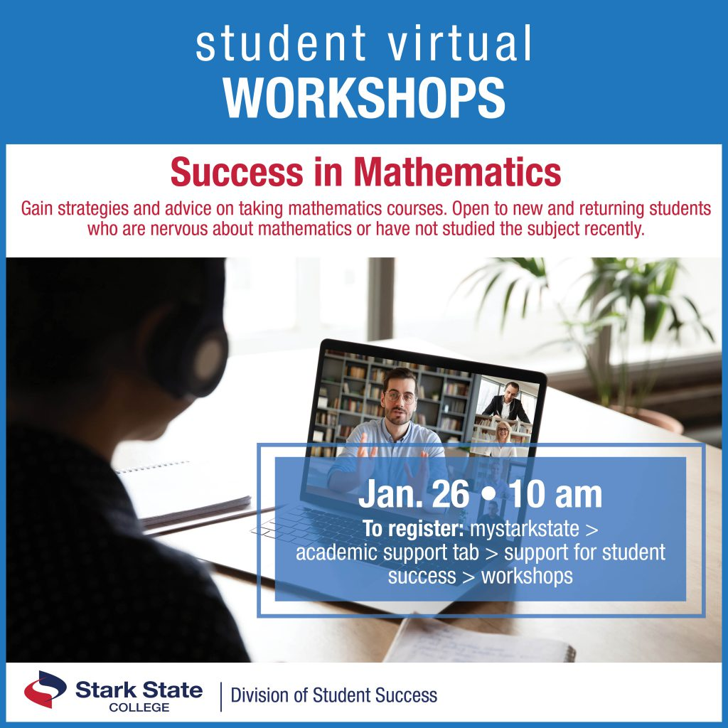 Virtual student workshop | Success in mathematics