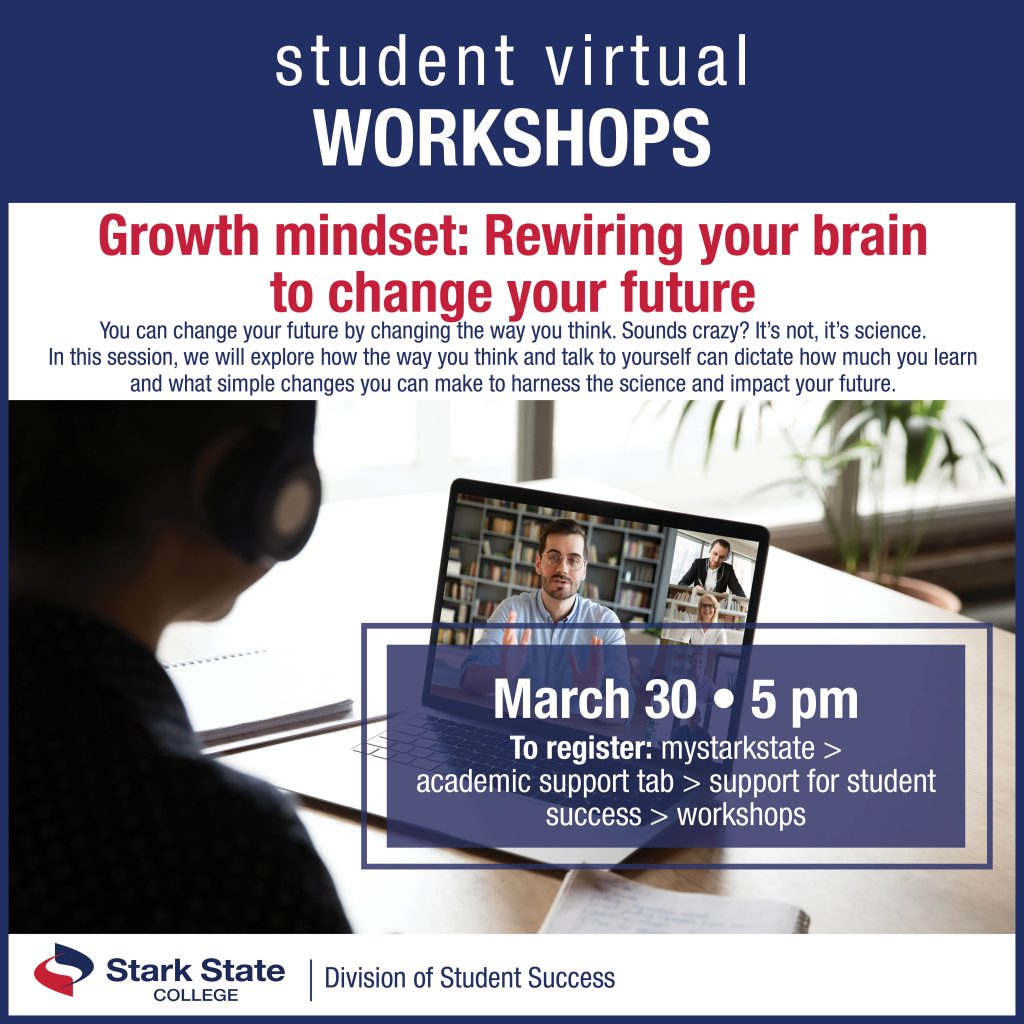 Virtual student workshops | Growth mindset: Rewiring your brain to change your future