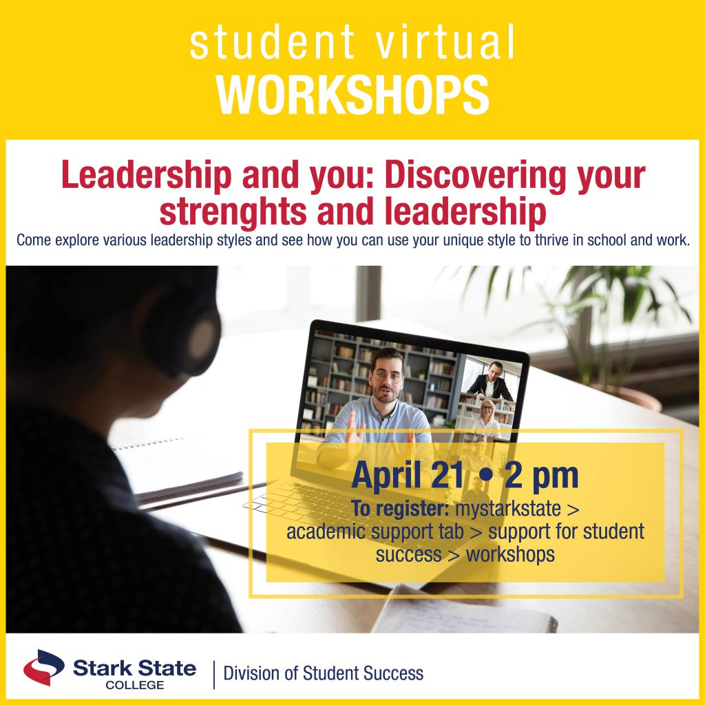 Virtual student workshops | Leadership and you: Discovering your strengths and leadership
