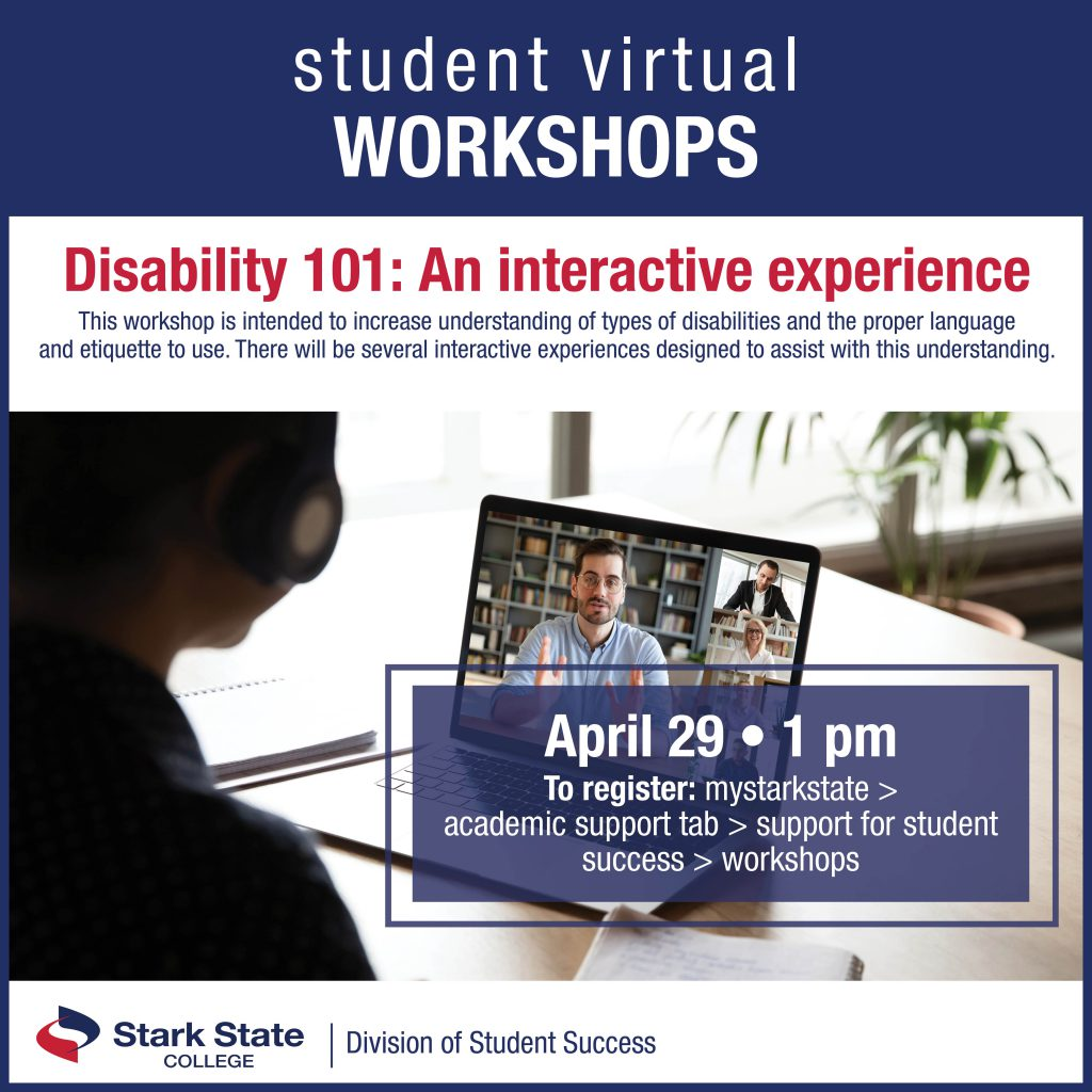 Virtual student workshops | Disability 101: An interactive experience