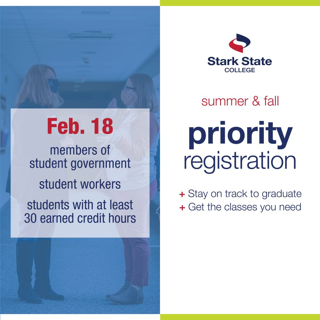 Priority registration