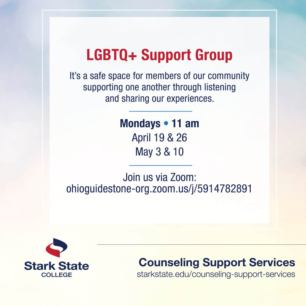 LGBTQ+ support group | counseling services
