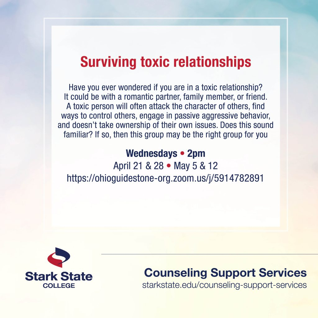 Surviving Toxic Relationships | counseling services