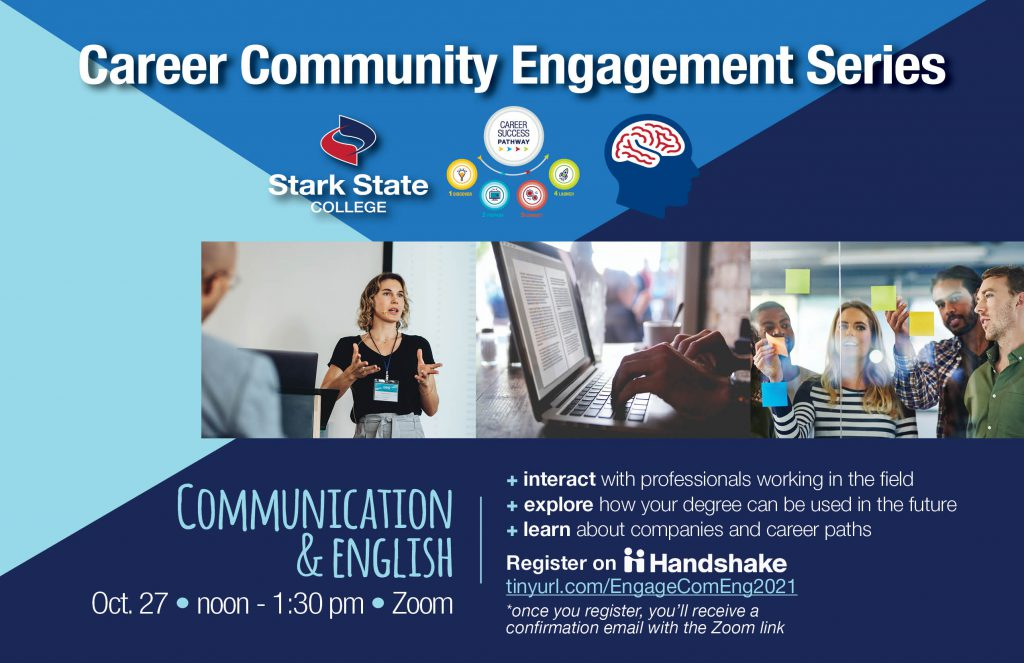Career Community Engagement Series - Communications and English
