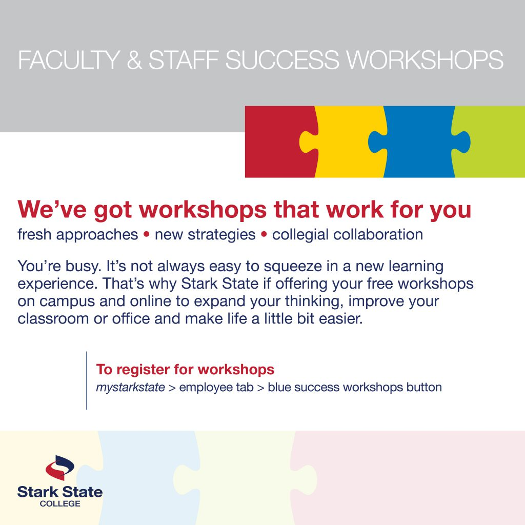 Student clubs and community connections - FACULTY/STAFF SUCCESS WORKSHOP